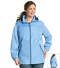 Breckenridge® Plus Size Zip-Front Active Coat