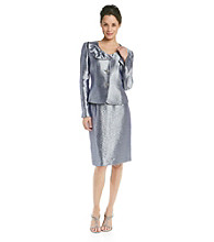 Kasper® Hammered Satin Suit Skirt