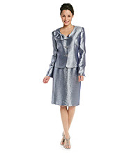 Kasper® Petites' Hammered Satin Suit Skirt