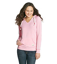 Mambo® Juniors' Burnout Kanga Pocket Pullover
