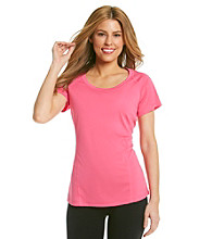 Exertek® Pieced Scoopneck Tee