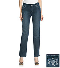 One 5 One® Swirl Straight-Leg Bling Jean