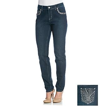 One 5 One® Skinny Bling Burst Jean