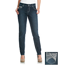 One 5 One® Bridge Skinny Bling Jean