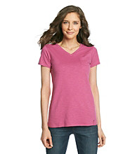 Ruff Hewn Slub V-Neck Pocket Tee