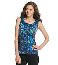 Laura Ashley® Petites' Artist Canvas Print Tank