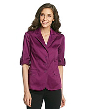 Laura Ashley® Pleat Pocket Blazer