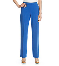 Briggs New York® Petites' Flat-Front Pull-On Pant