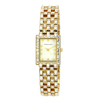 Anne Klein® Goldtone Dress Watch