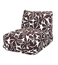 Majestic Home Goods Plantation Bean Bag Chair Lounger