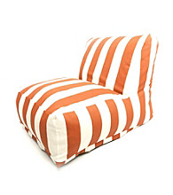 Majestic Home Goods Vertical Strip Bean Bag Chair Lounger