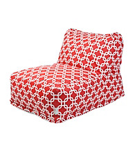 Majestic Home Goods Zig Zag Bean Bag Chair Lounger