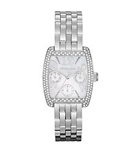 Michael Kors® Silvertone Emma Watch