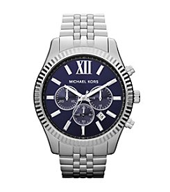 Michael Kors® Silver Lexington Watch
