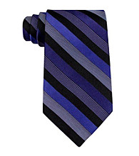 John Bartlett Statements Men's Leroy Stripe Silk Tie