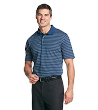 Kenneth Roberts Platinum® Men's Liquid Cotton Stripe Bar Polo