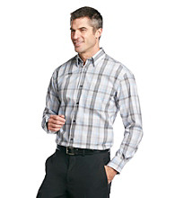 Kenneth Roberts Platinum® Men's High Silver Modern Plaid Fashion Woven