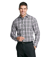 Kenneth Roberts Platinum® Men's Hazy Grey Plaid Fashion Woven