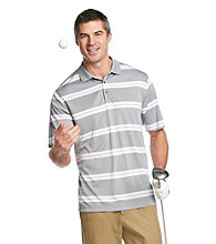 Kenneth Roberts Platinum® Men's Wide Stripe Performance Polo