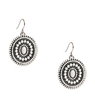 Lucky Brand® White Drop Earrings