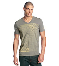 Guess Men's Iron Grey Short Sleeve