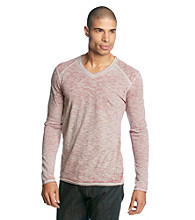 Guess Men's Ash Grey Long Sleeve