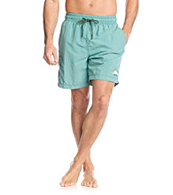 Tommy Bahama® Men's Carribean Green Happy Go Cargo Swim Trunks