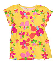 Carter's® Baby Girls' Yellow Floral Swing Tee