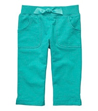 Carter's® Baby Girls' Teal Capris