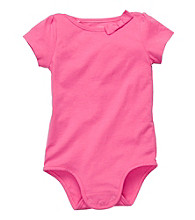 OshKosh B'Gosh® Baby Girls' Pink Bow Collar Bodysuit