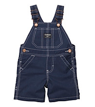 OshKosh B'Gosh® Baby Boys' Navy Poplin Shortall