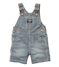 OshKosh B'Gosh® Baby Boys' Navy Hickory Shortall