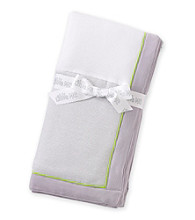 Little Me® Baby Boys' White Safari Blanket
