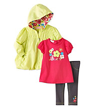 Kids Headquarters® Baby Girls' Green 3-pc. Sweet Tee Jacket Set