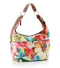 GAL Tropical Vintage Flower Stud Hobo