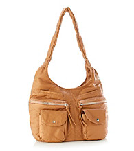 GAL Washed Pebble Satchel