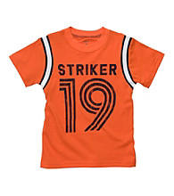 Carter's® Boys' 2T-7 Orange Short Sleeve
