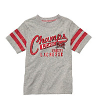 Carter's® Boys' 2T-7 Grey Short Sleeve Lacrosse Tee