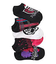 Monster High® Girls' Pink 5-pk. Drop Dead Gorgeous Socks