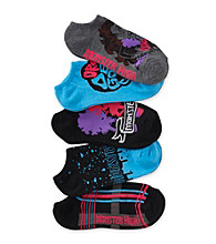 Monster High® Girls' Blue 5-pk. Clawdeen Wolf Socks
