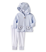 Cuddle Bear® Baby Boys' Blue 2-pc. Hooded Jacket Set