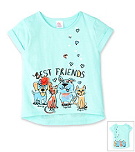 Little Miss Attitude Girls' 2T-6X Fiji Breeze Best Friends Tee