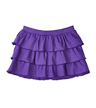 Little Miss Attitude Girls' 2T-6X Knit Ruffle Scooter