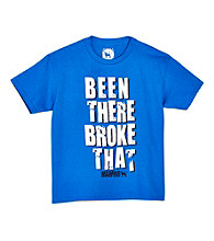Mambo® Boys' 8-20 Royal Blue Short Sleeve Been There Graphic Tee