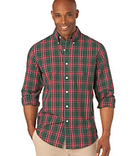 Chaps® Men's Big & Tall Beckworth Plaid Woven