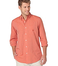 Chaps® Men's Big & Tall Autumn Leaf Fairfield Buttondown Shirt