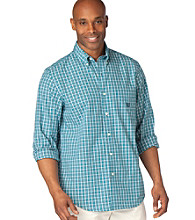 Chaps® Men's Big & Tall Glenlyon Check Buttondown Shirt