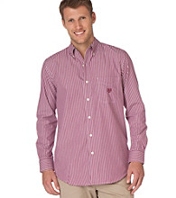 Chaps® Men's Big & Tall Wild Rose Banker Stripe Woven