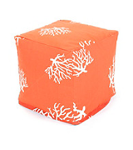 Majestic Home Goods Coral Small Cube