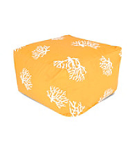 Majestic Home Goods Coral Large Ottoman